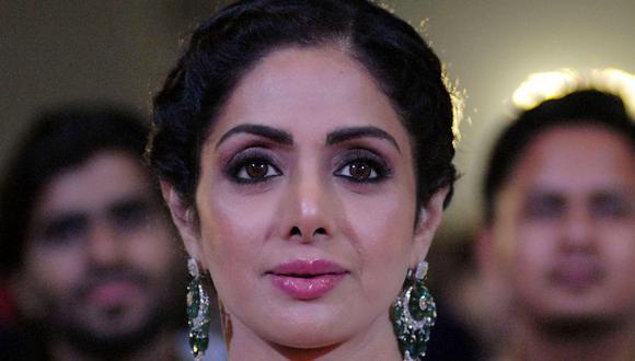 Sridevi Kapoor | La estrella de Bollywood se ahogó después de desmayarse en Dubái. (AFP).