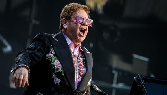 Elton John pospone su próxima gira europea a 2023. (Foto: Fabrice Coffrini / AFP)