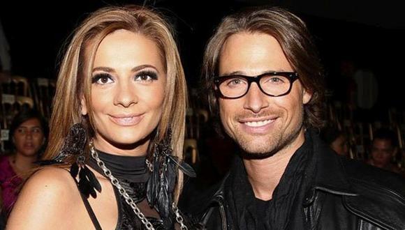 Sebastián Rulli y Cecilia Galliano se casaron el 2008 y desde ese momento, la hija de la conductora de TV llamó papá al actor, pero cuando se acabó el matrimonio, la relación entre el argentino y la niña también se terminó (Foto: revista Fama)