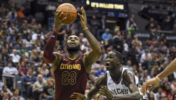 Cleveland Cavaliers se llevó el triunfo de su visita a Milwaukee Bucks. El equipo de LeBron James confirma un buen inicio de temporada. (Foto: Reuters)