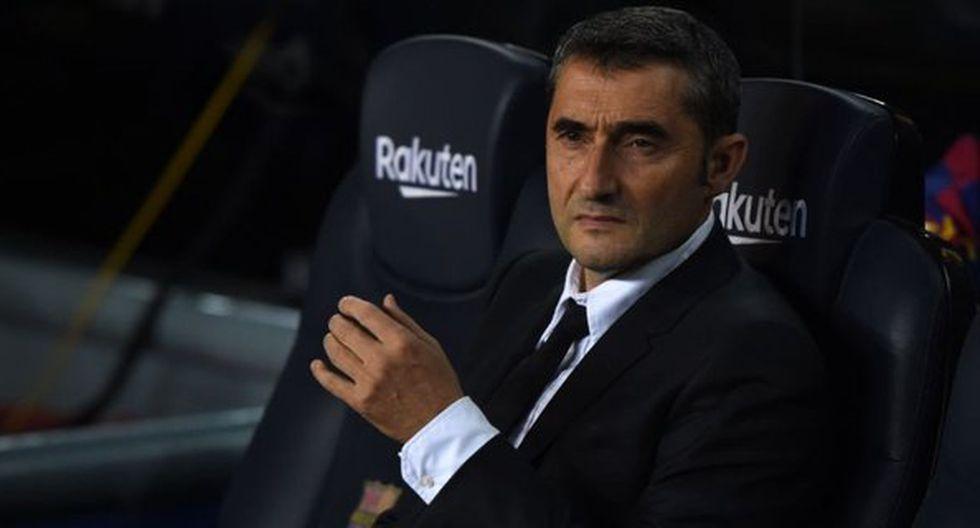 Ernesto Valverde está muy cerca de ser cesado en el Barcelona. (Foto: EFE)