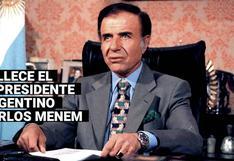 Quién fue Carlos Menem, el expresidente argentino que marcó una época en los 90