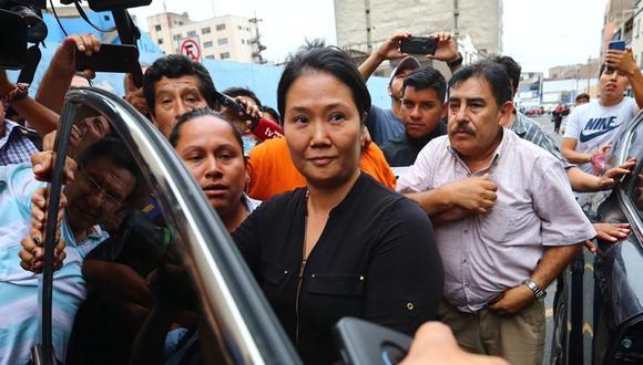 Keiko FUjimori presentó un recurso para abandonar el penal Anexo de Chorrillos ante el riesgo de ser contagiada con coronavirus (Fotos: Hugo Curotto/GEC)