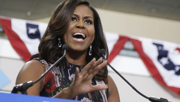"""Michelle: """"Es insoportablemente claro que Clinton es la mejor"""""""