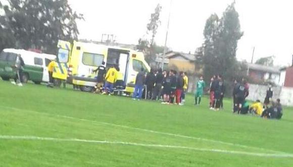 Futbolista falleció por un paro cardíaco en el fútbol chileno