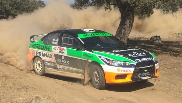 Nicolás Fuchs está listo para correr el Rally de Extremadura