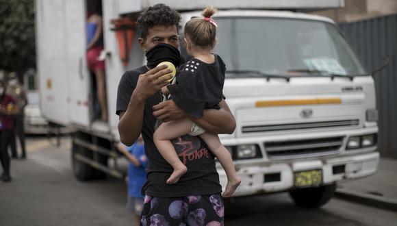 Muchas familias venezolanas se dedican al trabajo independiente y hoy no tienen ingresos para alimentación ni vivienda. FOTOS: ANTHONY NIÑO DE GUZMAN