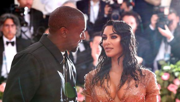 Kanye West y Kim Kardashian. (Foto: Reuters)
