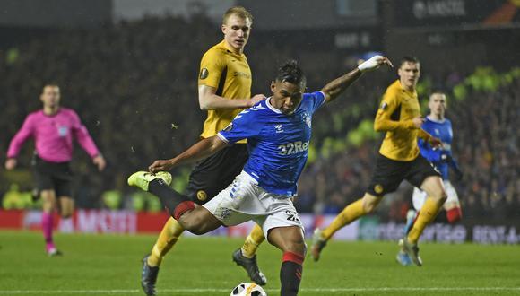 Alfredo Morelos es uno de los futbolistas que interesa al Inter. (Foto: AFP)