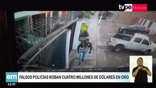 Comas: Roban 4 millones de dólares en oro disfrazados de policías