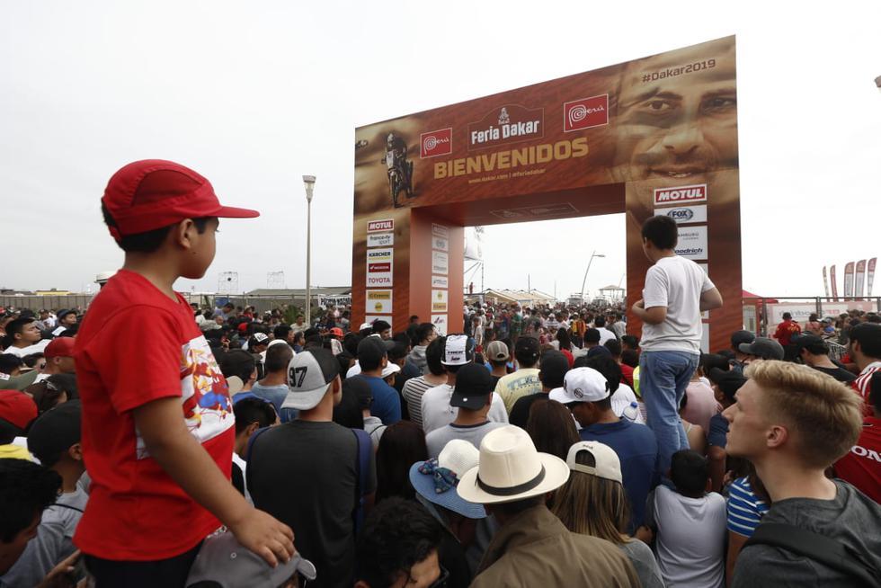 Los peruanos no quieren perderse los detalles del Dakar 2019. (Foto: César Campos/GEC)
