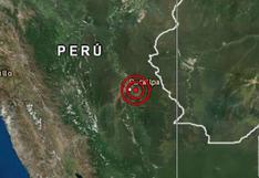 Ucayali: sismo de magnitud 4.4 se registró en la ciudad de Pucallpa