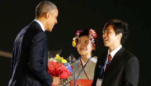 Barack Obama llega a Japón para el G7 y una visita a Hiroshima