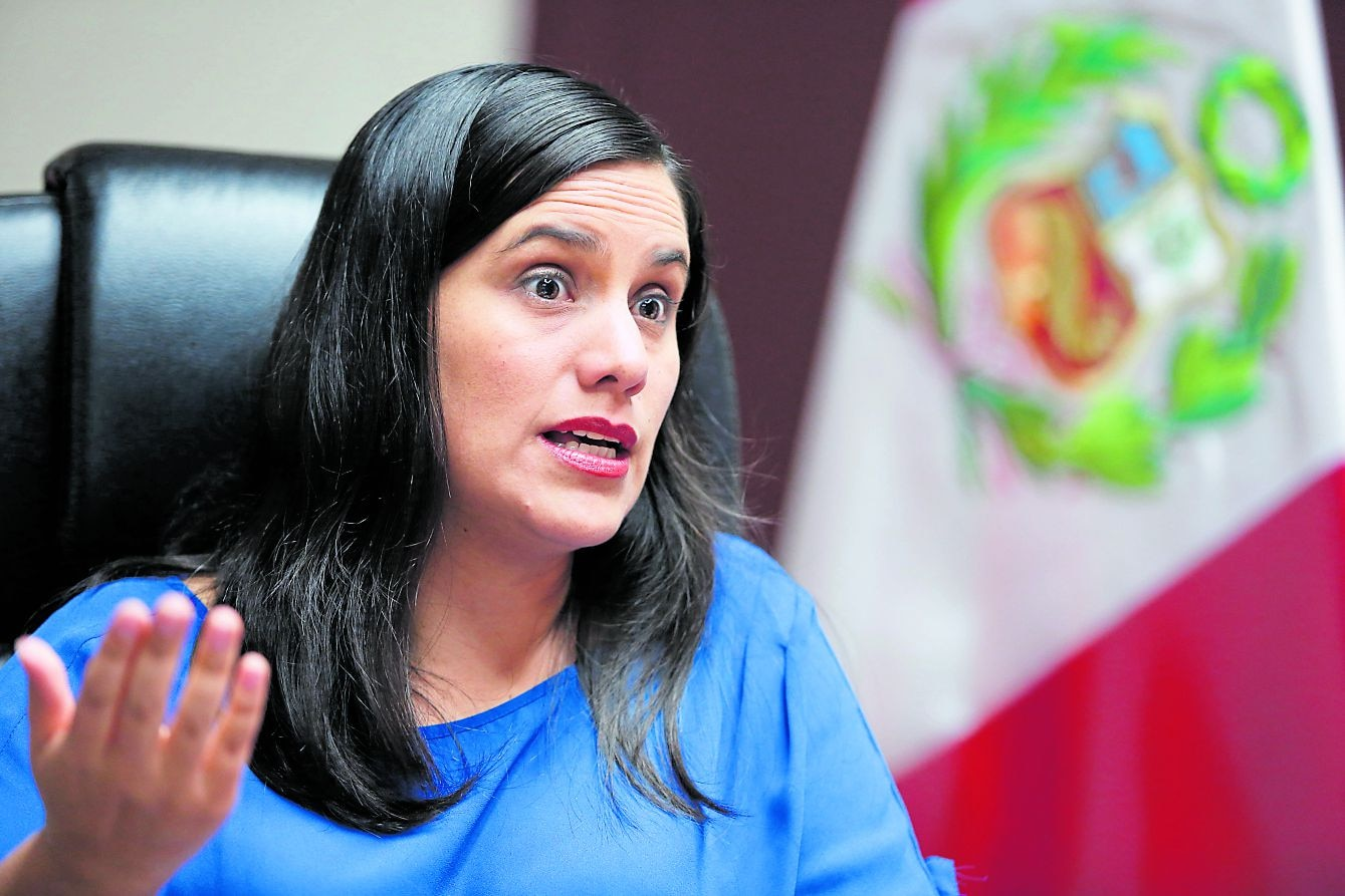 Verónika Mendoza. (Foto: GEC)