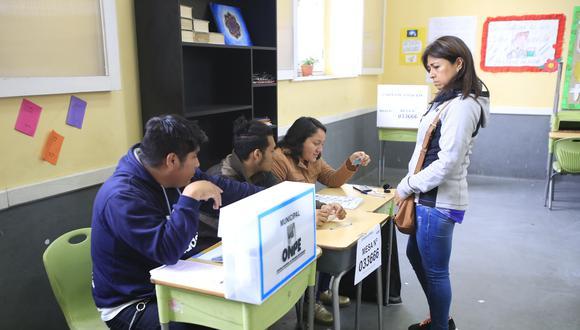 Todos los ciudadanos tienen derecho al voto, así no hayan sufragado en el proceso electoral anterior. (Foto: GEC)
