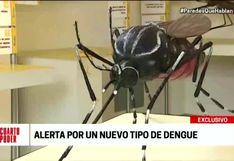 Brote de nuevo tipo de dengue deja tres regiones del país en emergencia sanitaria