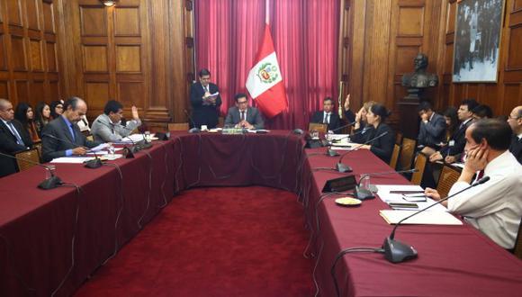 Juan Carlos Gonzales renunció este miércoles a la Comisión de Ética Parlamentaria. (Foto: Congreso de la República)
