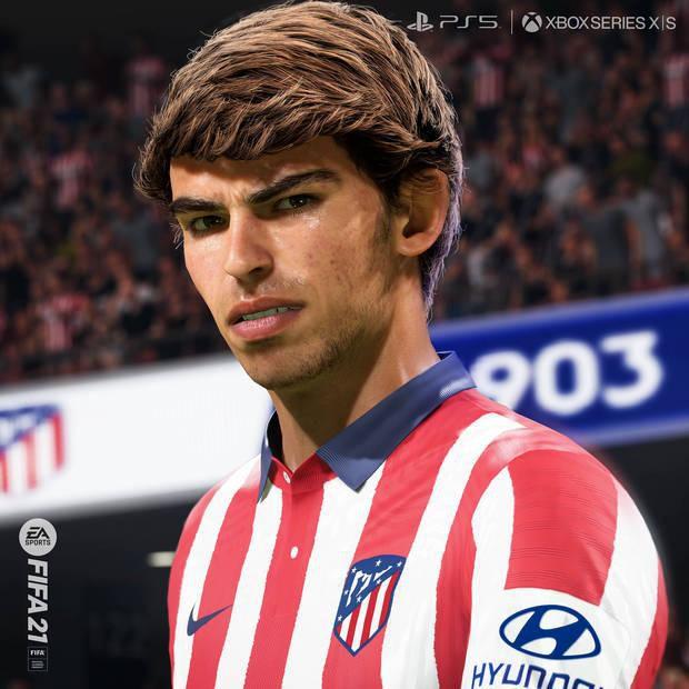 João Félix en FIFA 21. (Difusión)