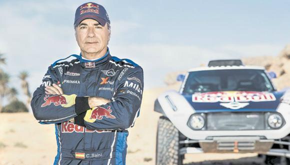 El piloto español defiende el título del Dakar, pero esta vez en un buggy Mini.(Foto: RedBull).