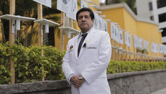 El Decano del Colegio Médico consideró que las medidas tomadas son incompletas. (Anthony Niño de Guzmán / @photo.gec)