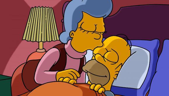 La historia de la familia de Homero explica mucho de por qué es como es en la actualidad, y es especialmente desgarrador que no se haya reconciliado adecuadamente con su madre (Foto: FOX)