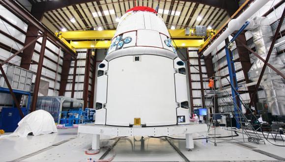 Cápsula Dragon va camino a la Estación Espacial Internacional