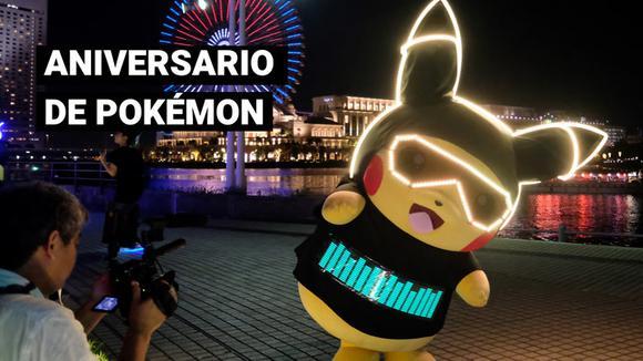 Pokémon está de aniversario: franquicia cumple 25 años