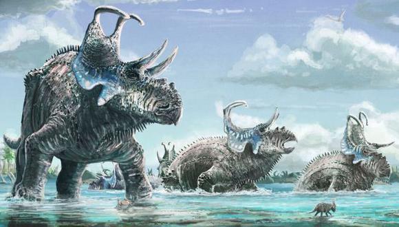 Descubren una nueva especie de dinosaurio en EE.UU.