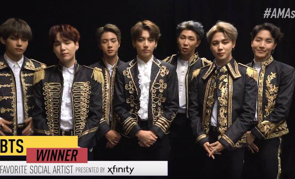 BTS envió un video para agradecer a sus fans (Foto: Captura)