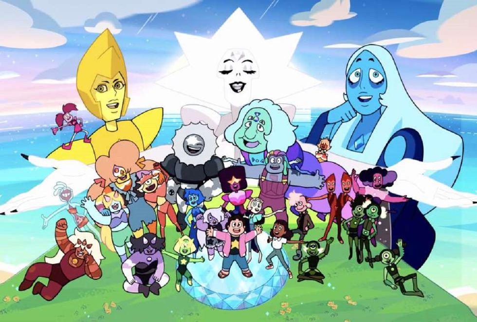 """""""Steven Universe"""" tiene en total cinco temporadas (Foto: Cartoon Network)"""