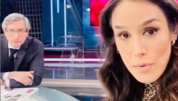 Periodista Karina Borrero casi sufre atraco tras dirigirse al trabajo. (Foto: @kariborrero)
