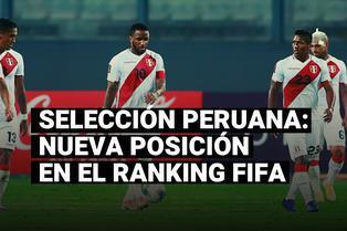 La selección peruana cayó dos posiciones en el Ranking FIFA tras las jornadas 1 y 2 de las Eliminatorias