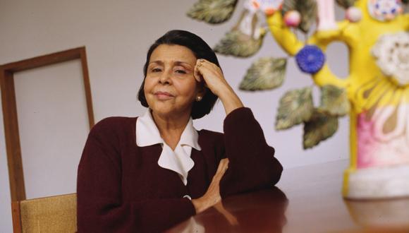 """Blanca Leonor Varela Gonzáles, la mujer, la amiga, la madre, la poeta que sus lectores llaman amorosamente """"Blanquita"""". (Foto: GEC / Jorge Sarmiento)"""