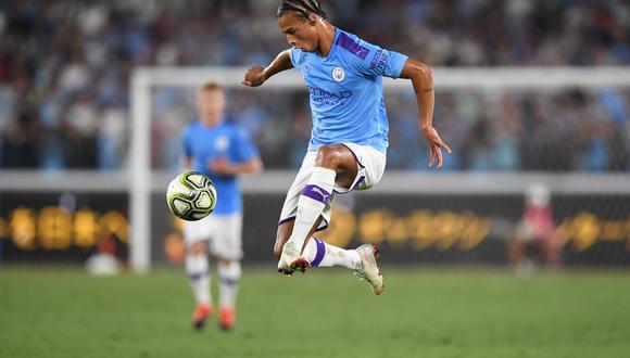 Sané disputó cuatro temporadas con el City. (Foto: AFP)