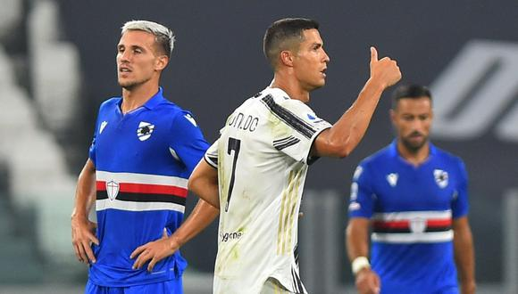 Cristiano cerró la goleada de la Juventus ante Sampdoria. (Foto: Reuters)