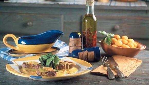Bistec especial con salsa valois