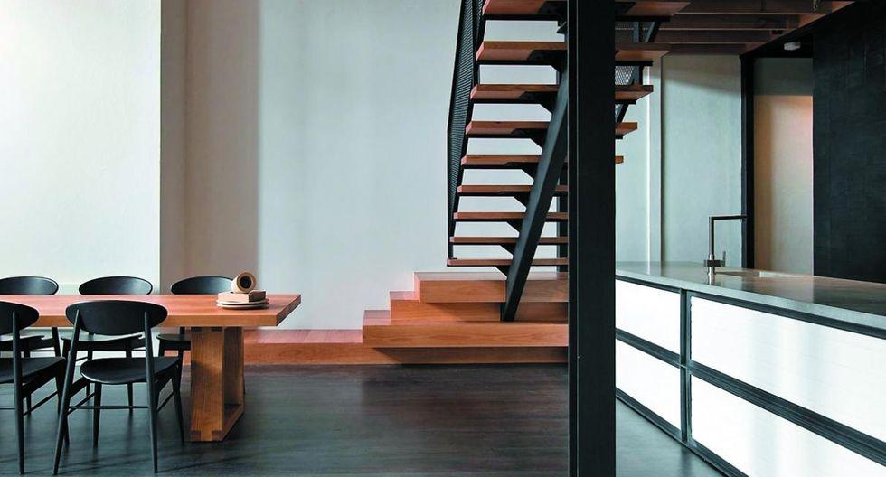 Algunas medidas. Así los ambientes sean pequeños, toma las medidas de tus muebles y calcula cuánto espacio de circulación tendrás. (Foto: Andrew Wuttke. Diseño: Breathe Architecture)