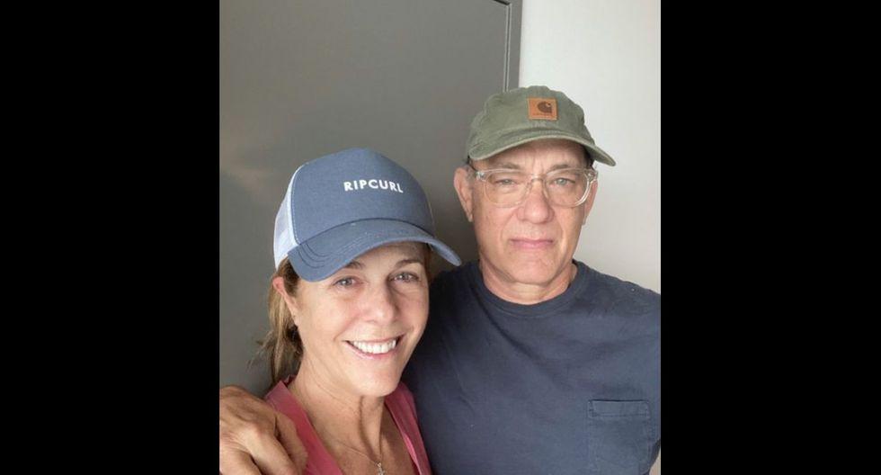 Tom Hanks y Rita Wilson - Las celebridades revelaron que habían sido infectadas por el Covid-19 durante un viaje a Australia y pidieron a sus seguidores seguir las indicaciones de las autoridades médicas. Afortunadamente ahora se encuentran recuperadas y de regreso en los EE.UU.  (Foto: Twitter)