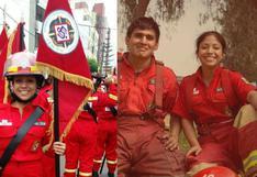 Realizan cruzada solidaria para ayudar a bombera tras grave accidente que afectó su columna