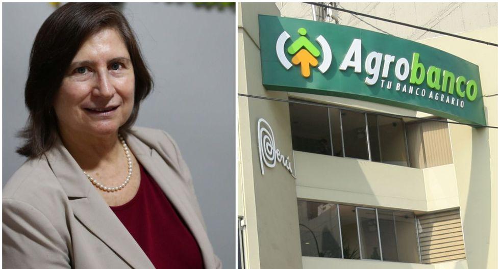 """""""Las recuperaciones van a financiar el programa de desembolsos para los siguientes cinco años."""", dice Lorena Masías, presidenta del directorio de Agrobanco. (Foto: Alessandro Currarino)"""