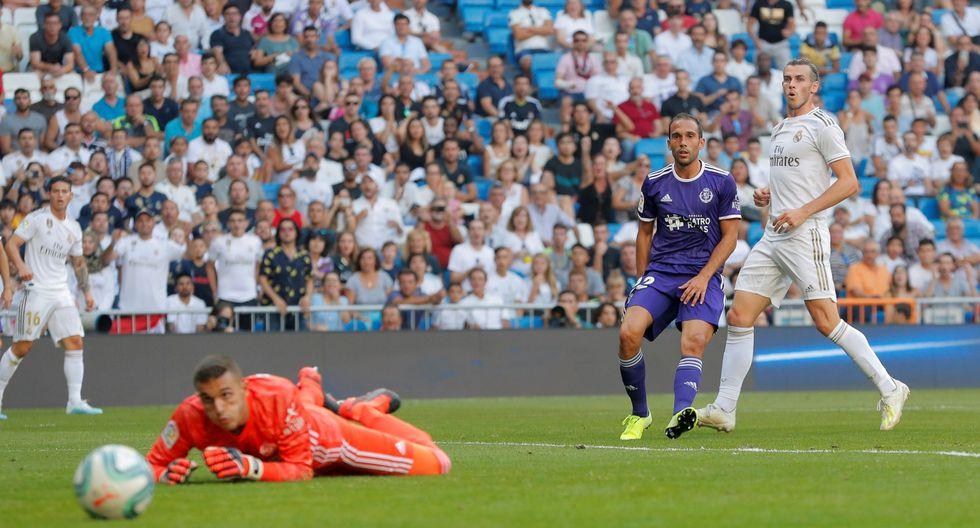 Real Madrid vs. Real Valladolid: James, Bale y la acción más clara del primer tiempo   VIDEO. (Foto: AFP)