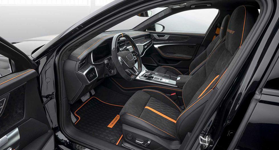 El Audi RS 6 Avant de Mansory ha aumentado su potencia hasta alcanzar los 720 hp. Acelera de 0 a 100 km/h en 3.2 segundos. (Fotos: Mansory).