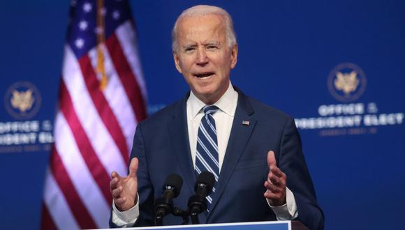 El presidente electo de Estados Unidos, Joe Biden. (Foto: Reuters)