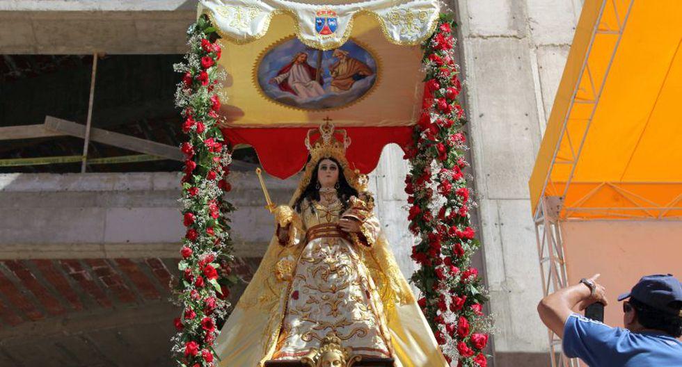 Miles de fieles peregrinaron al santuario de la Virgen de Chapi - 1