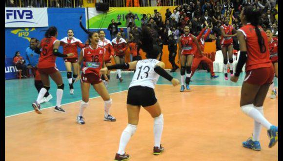 Vóley: Sub 23 de Perú busca pase a final de Copa Panamericana