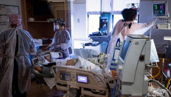 Coronavirus en Estados Unidos   Últimas noticias   Último minuto: reporte de infectados y muertos hoy, viernes 14 de mayo del 2021   Covid-19. (Foto: EFE/Etienne Laurent/Archivo).