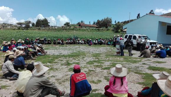 Las comunidades se han organizado en comités de ronda para combatir la delincuencia y cuidar sus ganados. (GEC)