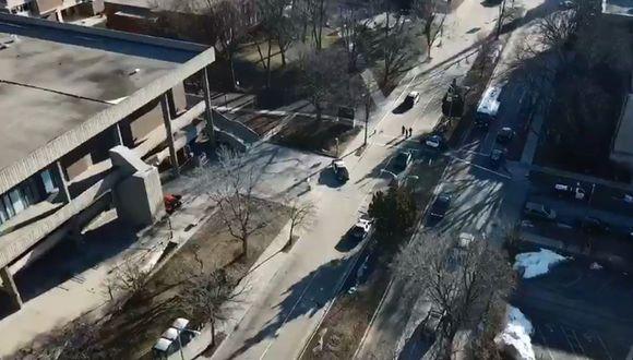 Estados Unidos: Reportan tiroteo en Universidad de Wisconsin que habría dejado 3 heridos. (Captura)