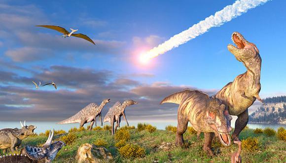 El asteroide 'Chicxulub', el que chocó con la Tierra hace 65 millones de años atrás y al que se le atribuye la extinción de los dinosaurios, generó alrededor de 100 millones de megatones. (Getty)