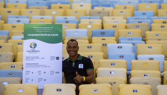 Brasil integrará el grupo A de la Copa América junto a Bolivia, Venezuela y Perú. (Foto: AFP)